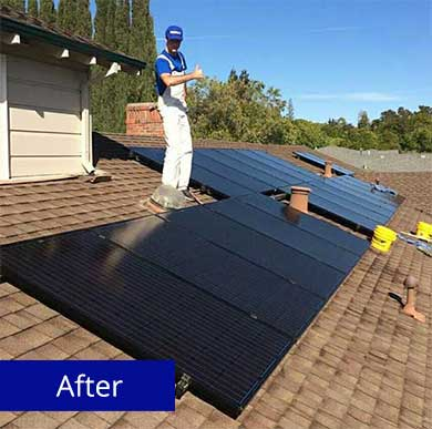 Solar Panels- After