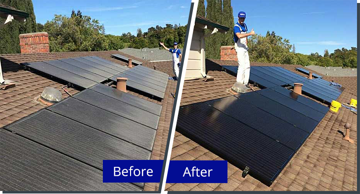 New for 2016! We Clean Solar Panels!!